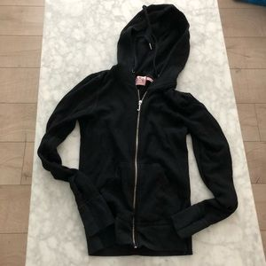 Juicy Couture Thermal Zip Up Hoodie